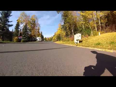 Longboarding Eagle River, AK ft. Cody Shoemake