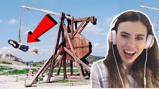 MOST DANGEROUS THEME PARK RIDES IN THE WORLD!!! thumbnail
