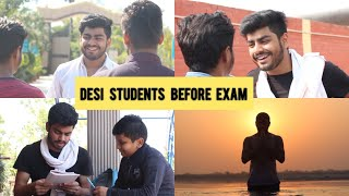 DESI STUDENTS BEFORE EXAM | Awanish Singh
