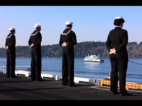 Nimitz Returns to Bremerton