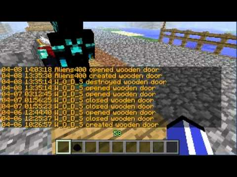 Griefer in minecraft caught on camera episode 2 - YouTube