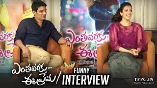 Jiiva And Kajal Aggarwal Funny Interview About Enthavaraku Ee Prema Movie | TFPC
