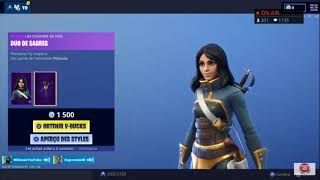 "NEW SKIN ""BRETTEUSE"" FORTNITE"