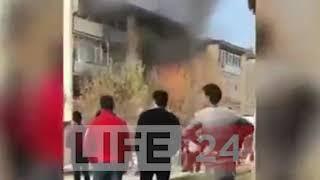 В Андижане произошел взрыв газа в квартире многоэтажки есть пострадавшие