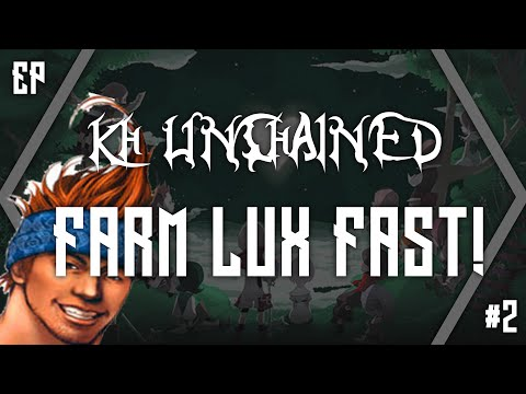 Kingdom Hearts Unchained: Farming LUX Fast Level Up! WAKKA STYLE