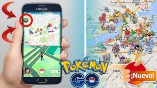 Nuevo PokeVision y Mapa Flotante para Pokemon GO