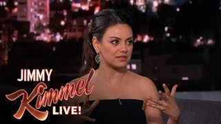 Mila reveals how her husband ashton kutcher got to sign up for tinder.subscribe get the latest #kimmel: http://bit.ly/jklsubscribewatch hal...