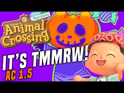 HALLOWEEN TMMRW! Animal Crossing New Horizons NEW 1.5 Update Prep! ACNH Tips and Tricks!