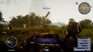 FINAL FANTASY XV - Iris fighting