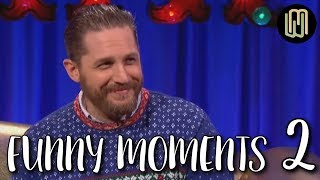 Tom Hardy's Funny Moments PART 2