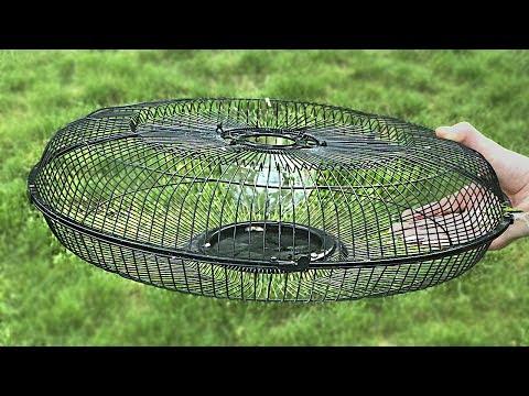 Как сделать ловушку из вентилятора/Making a trap from a fan