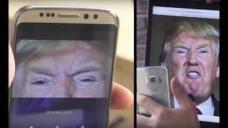 Göz Tarayıcısı Her Gözle Açılan Çakma Galaxy S8 İncelemesi