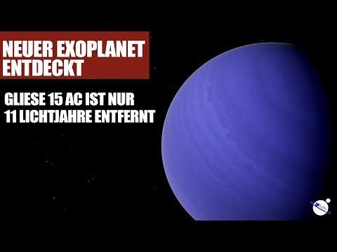Neuer Exoplanet entdeckt - Gliese 15Ac ist nur 11 Lichtjahre entfernt