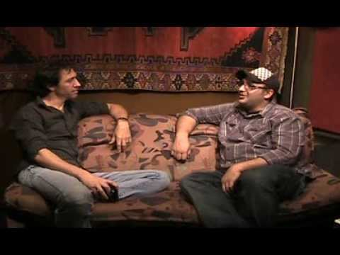 Studio M31: The interview room with guest Alex Nelson.