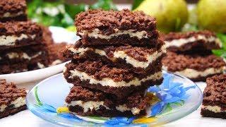 Какое же оно Вкусное! Шоколадное печенье с творогом