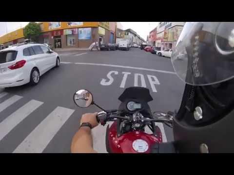 Vuelta en moto por Madrid sur.#2/DERBI TERRA 125 C.C // ONROAD // Go pro Hero // on board // 1080 HD