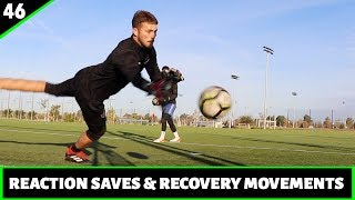 Reactions Saves, Recovery Movements and Shot Stopping | Goalkeeper Training | Pro Gk