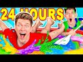 Mixing $10,000 of Slime Challenge & Learn How To M