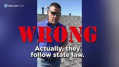 Roofer's Facebook video goes viral with leaky claims on waiving insurance deductibles