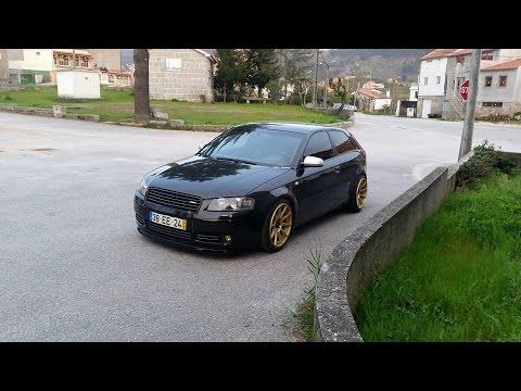 """Stance Project Audi A3 """"El Negro"""""""