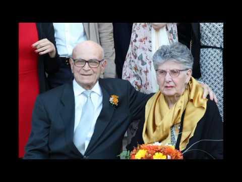 Amelia e Raffaele sposi da 50 anni