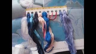 Обзор набора для вышивки
