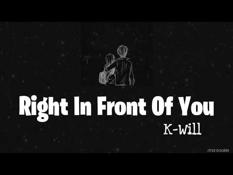 Download K.Will - Right In Front of You 네 앞에 Melting Me Softly OST Part 1 s Han/Rom/Indo Mp4 baru