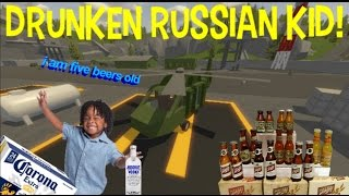 UNTURNED: Killing Spree With A Drunk Russian Kid..