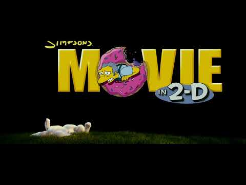 The Simpsons Movie Dvd Menu Walkthrough Youtube