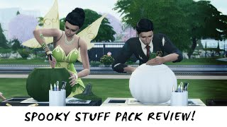 The Sims 4 Spooky Stuff — Review