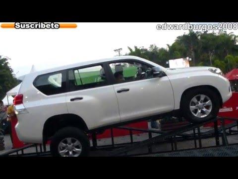 toyota land cruiser prado tx 2013 colombia carros auto show expomotriz medellin 2012 FULL HD