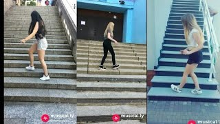 stair Shuffle Dance Competition Musically 2018 Challenge