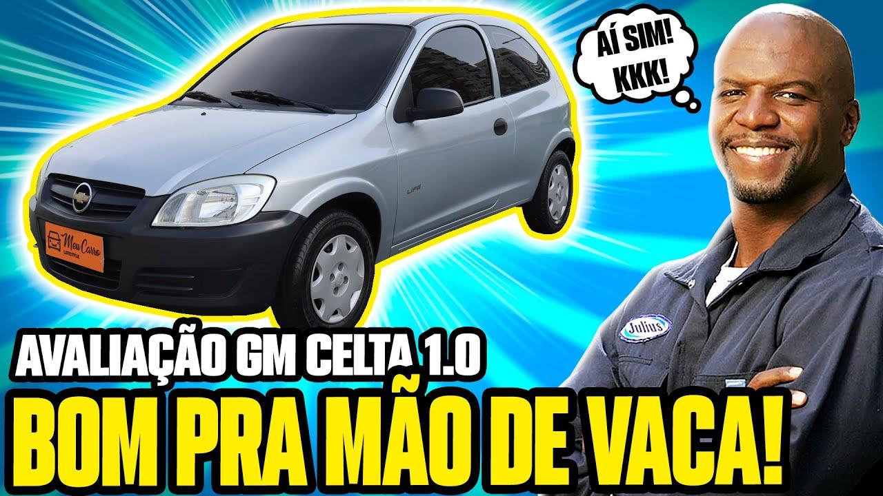 GM CELTA - CARRO BOM e BARATO pra QUEM TÁ RUIM DE GRANA! (Avaliação)