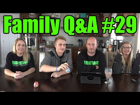Family Q&A on Friday #29 December 18th 2015