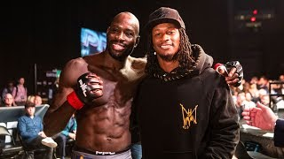 Sadibou Sy and LA Rams Running Back Todd Gurley | Professional Fighters League 2019