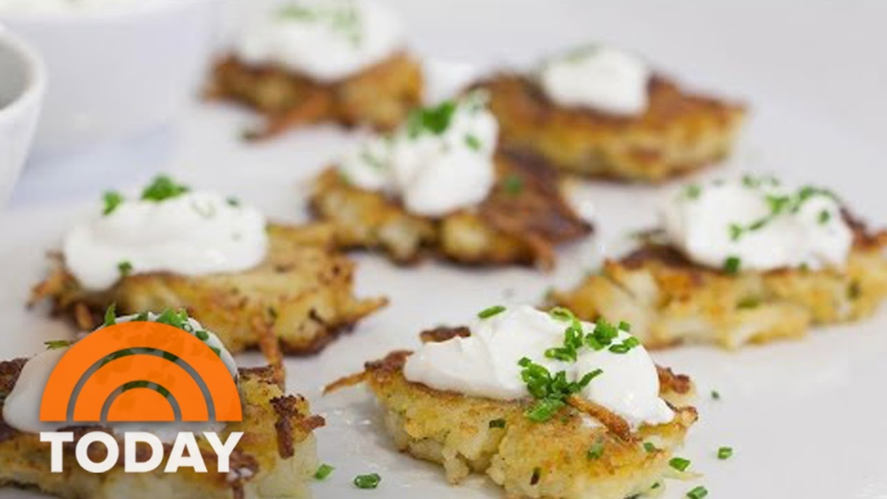 Ina Garten Appetizers Ina Garten Makes Holiday Appetizers Potato Pancakes Fig And Goat