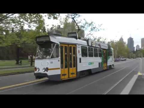 Melbourne Trams St Kilda Road April 2016 Z1 Class Tram