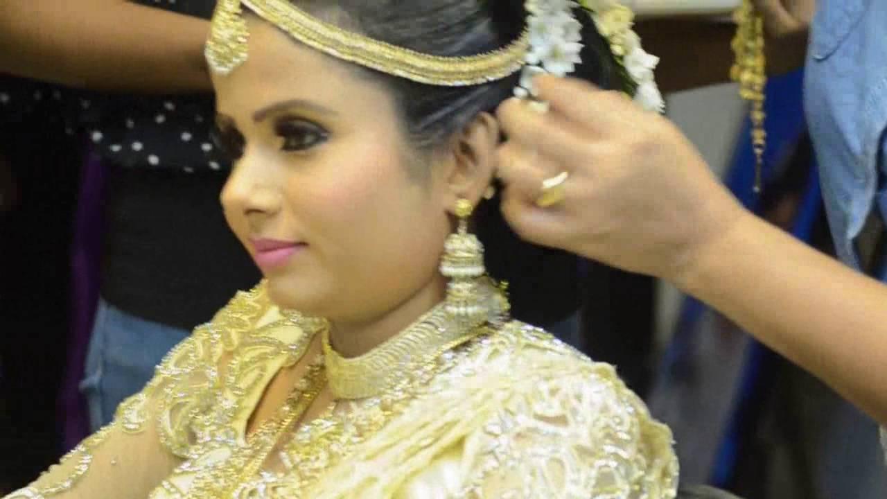 bridal making up - wedding day - sri lanka - by nilakshi - youtube
