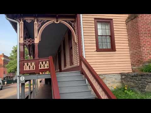 Walking Tour Of Historic Jonesborough Tennessee