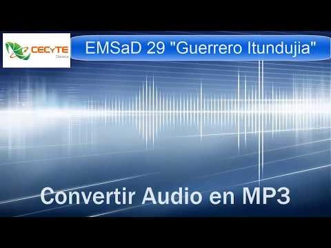 Convertir Audio en MP3 con aTube Catcher
