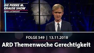 Die Pierre M. Krause Show vom 13.11.2018 mit Pierre und der Gerechtigkeit