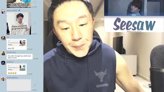 DJ REACTION to KPOP - BTS Seesaw