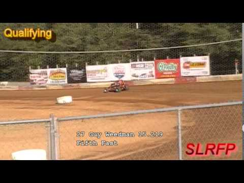 7 18 15 Coos Bay Speedway Non wing Sprint Qualifying