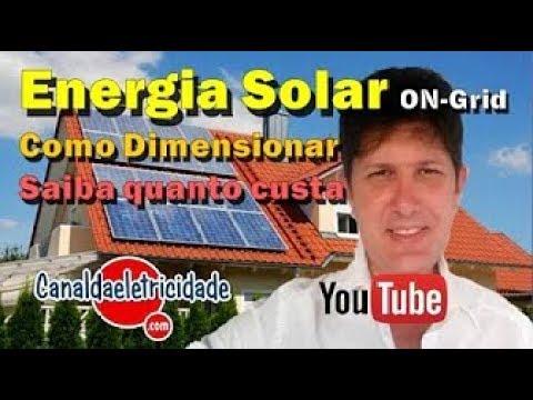QUANTO CUSTA INSTALAR ENERGIA SOLAR EM SUA CASA 2019