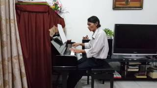 giot mua thu piano cover