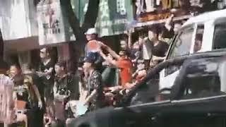 태국에서 송크란 축제 영상