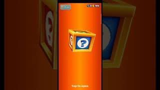 get mystery box/subway surfers reward/subway surfers/Game played by gaming style #shorts #games