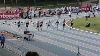 YAG 2018 P15 100m finaali