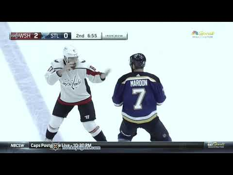 Liam O'Brien vs Patrick Maroon Sep 25, 2018