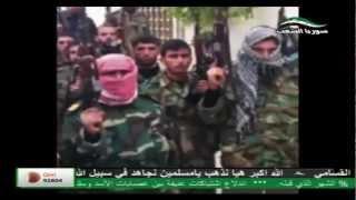 هذه بشراك يا شام - أجمل أناشيد الثورة السورية HD